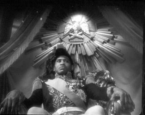 Paul Robeson as Emperor Jones Courtesy the Library of Congress/Motion Picture Conservation Center